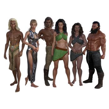 Races of Primeval Origins®